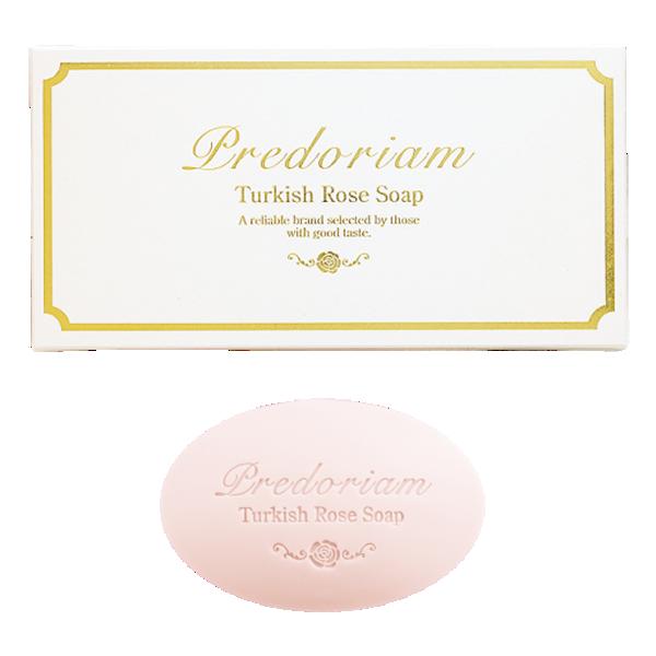 プレドリアム トルキッシュローズソープ 100g×3個